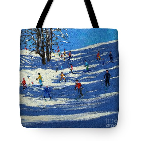 Blue Shadows Tote Bag by Andrew Macara