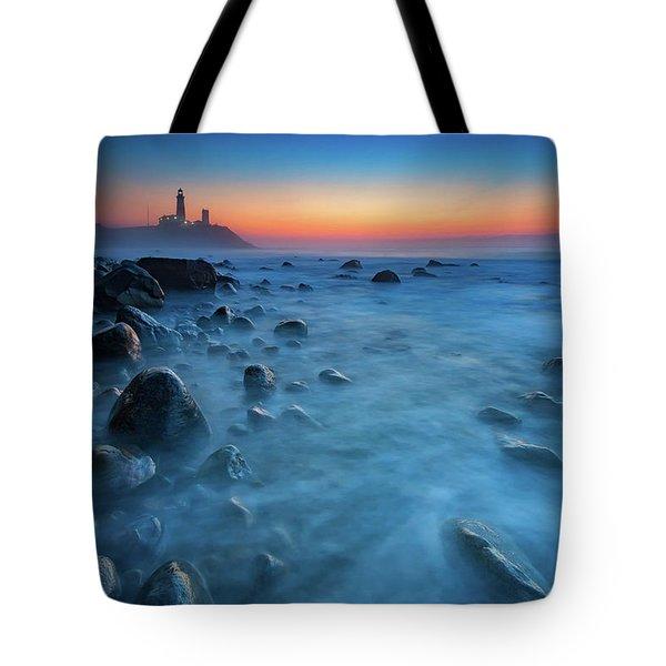 Blue Tide Tote Bag by Rick Berk