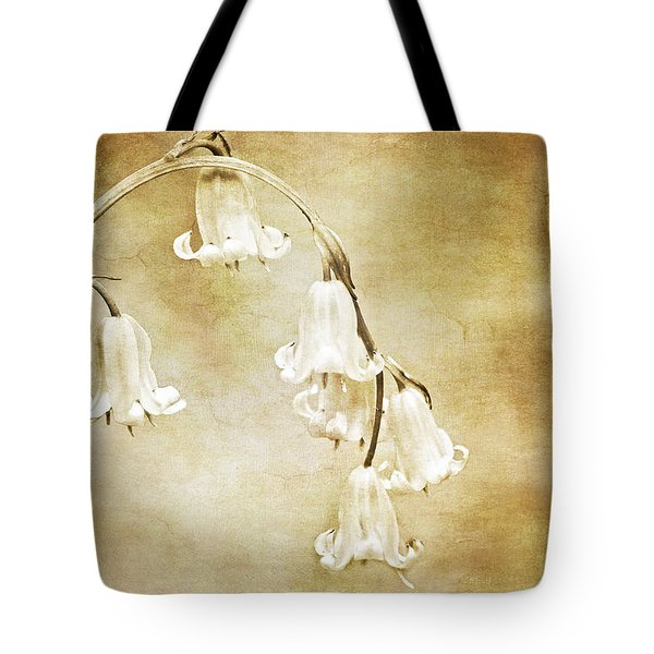 bluebell arch Tote Bag by Meirion Matthias