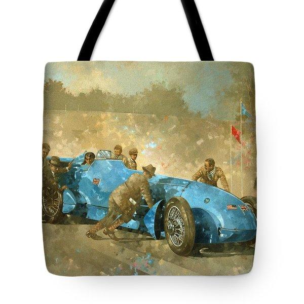 Bluebird Tote Bag by Peter Miller