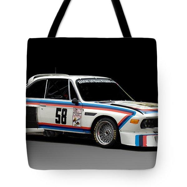 Bmw 3.0 Csl Tote Bag by Kurt Golgart