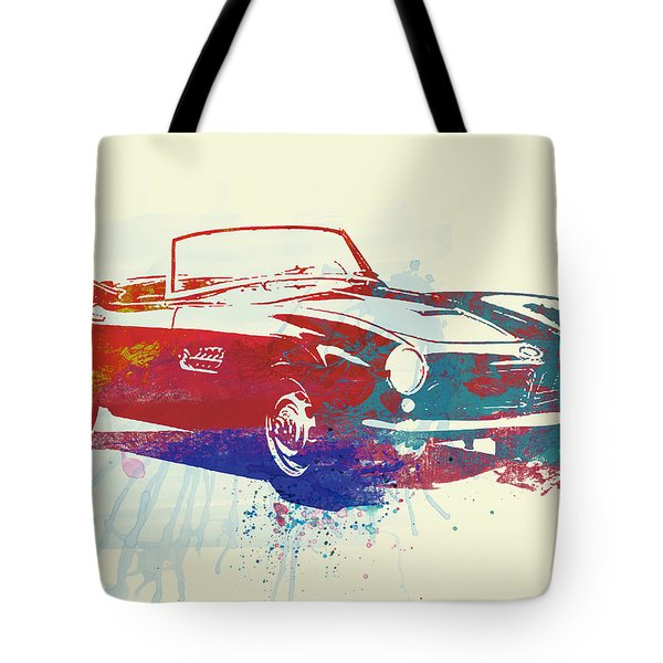 Bmw 507 Tote Bag by Naxart Studio