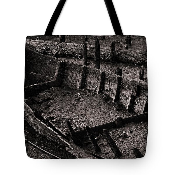 Boat Remains Tote Bag by Carlos Caetano