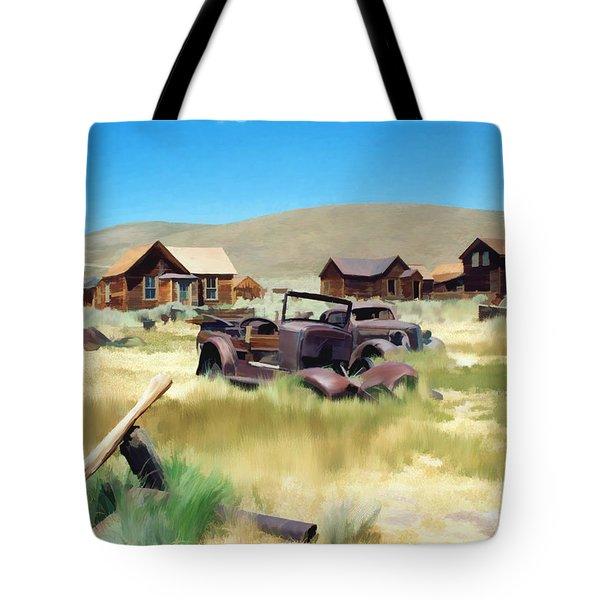 Bodie Tote Bag by Kurt Van Wagner
