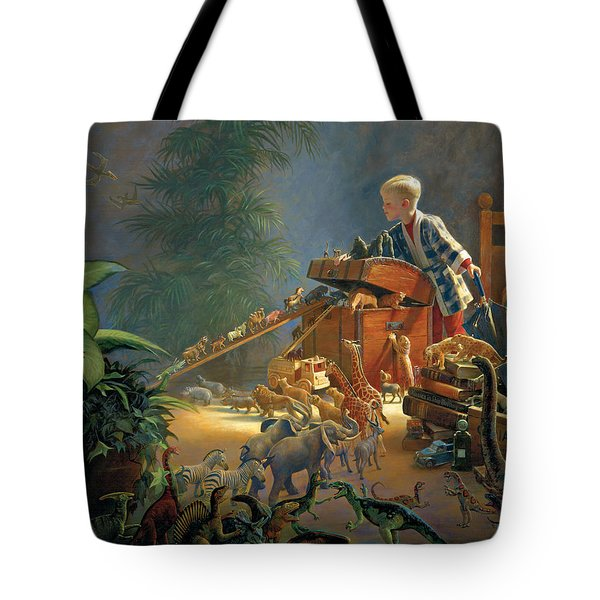 Bon Voyage Tote Bag by Greg Olsen