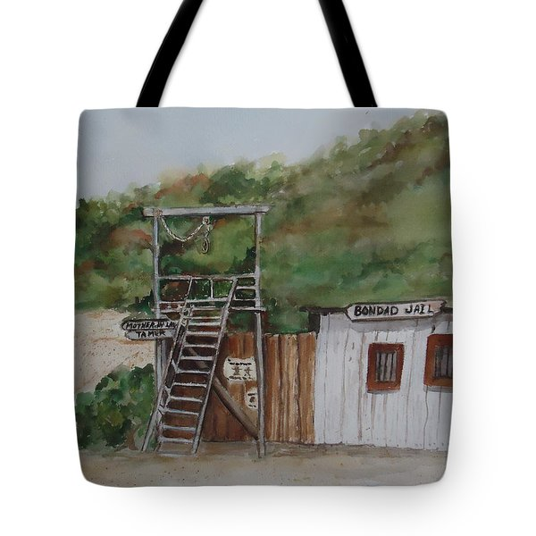 Bondad Colorado Jail Tote Bag by Charme Curtin