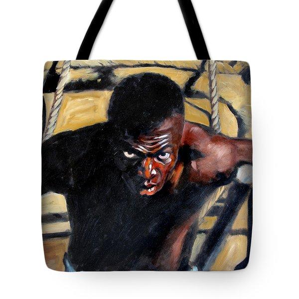 Bondage Tote Bag by John Lautermilch
