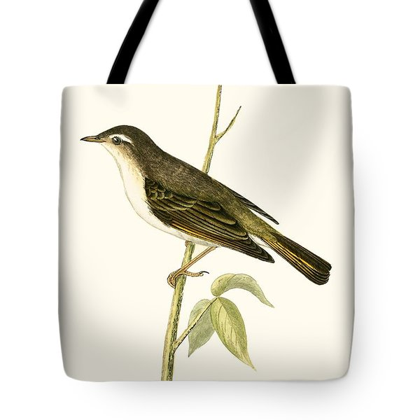 Bonelli's Warbler Tote Bag by English School