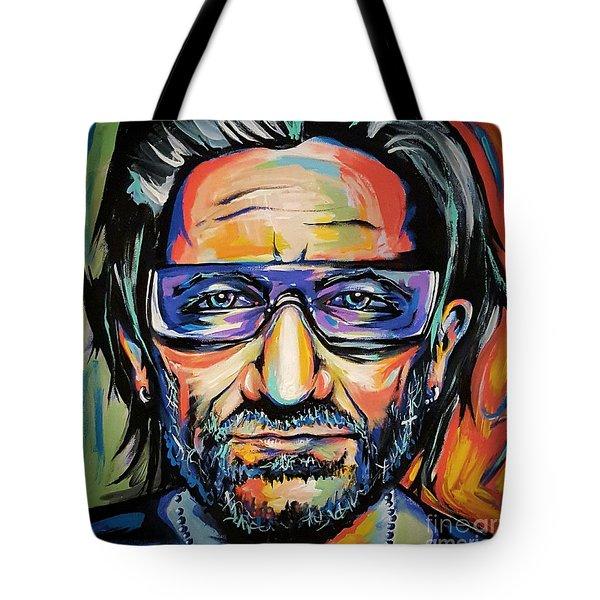 Bono Tote Bag by Amy Belonio
