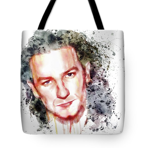 Bono Vox Tote Bag by Marian Voicu