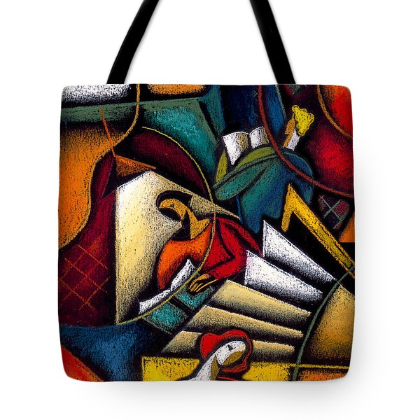 Book Tote Bag by Leon Zernitsky