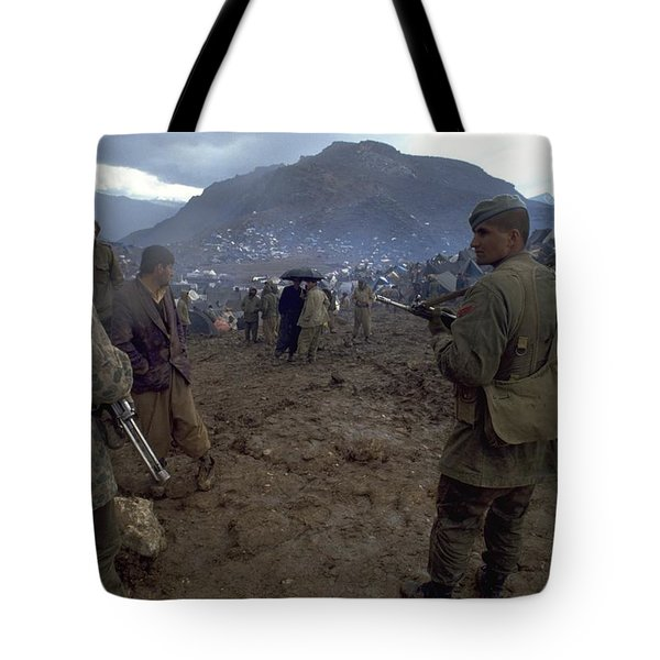 Tote Bag featuring the photograph Border Control by Travel Pics