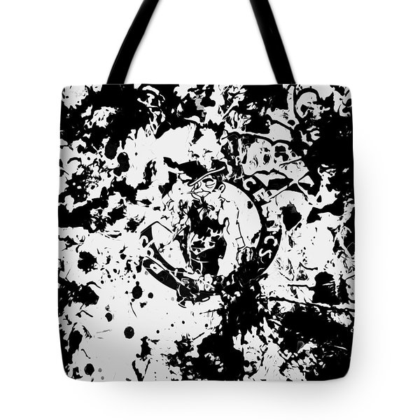 Boston Celtics 1d Tote Bag by Brian Reaves