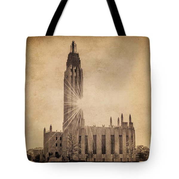 Boston United Methodist Church Tote Bag by Tamyra Ayles