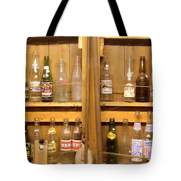 Botellas Antiguas Tote Bag by Ed Smith