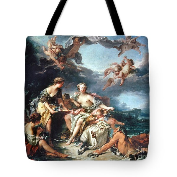 Boucher: Abduction/europa Tote Bag by Granger