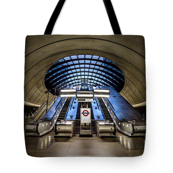 Bound For The Underground Tote Bag by Evelina Kremsdorf