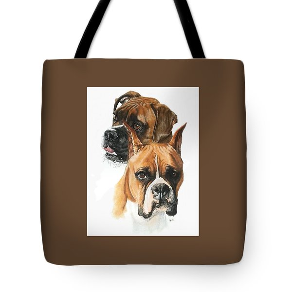 Boxers Tote Bag by Barbara Keith