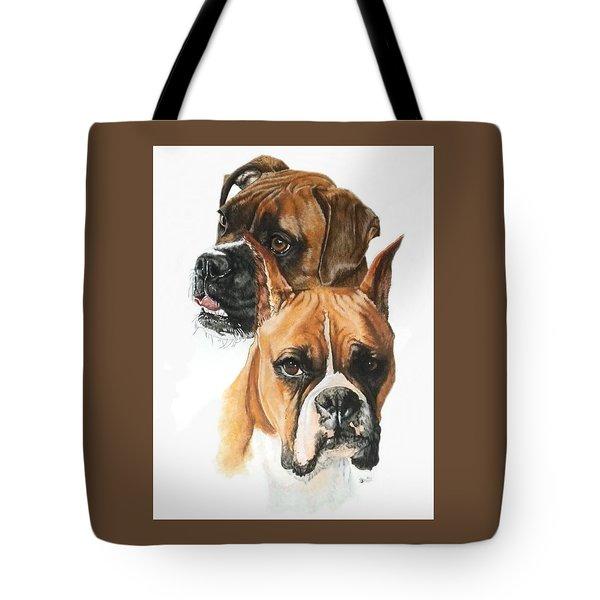 Boxers Tote Bag by Barbara Keith