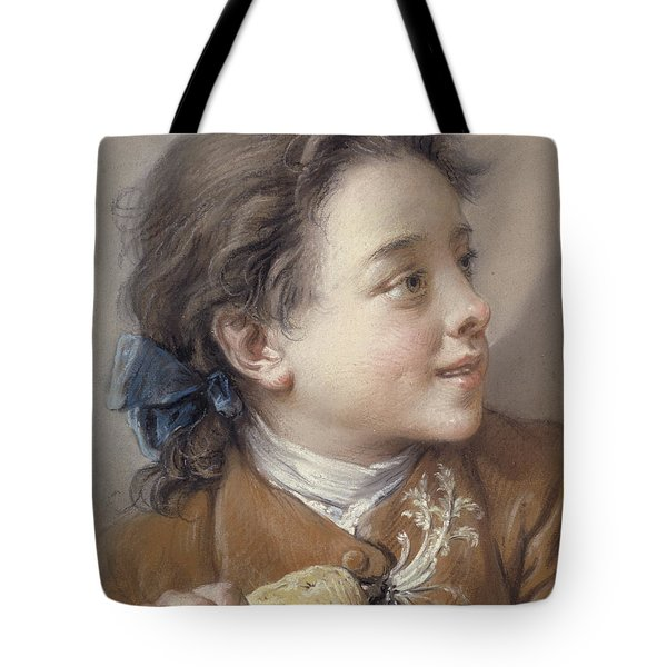Boy With A Carrot, 1738 Tote Bag by Francois Boucher