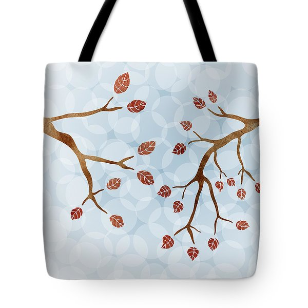 Branches Tote Bag by Frank Tschakert