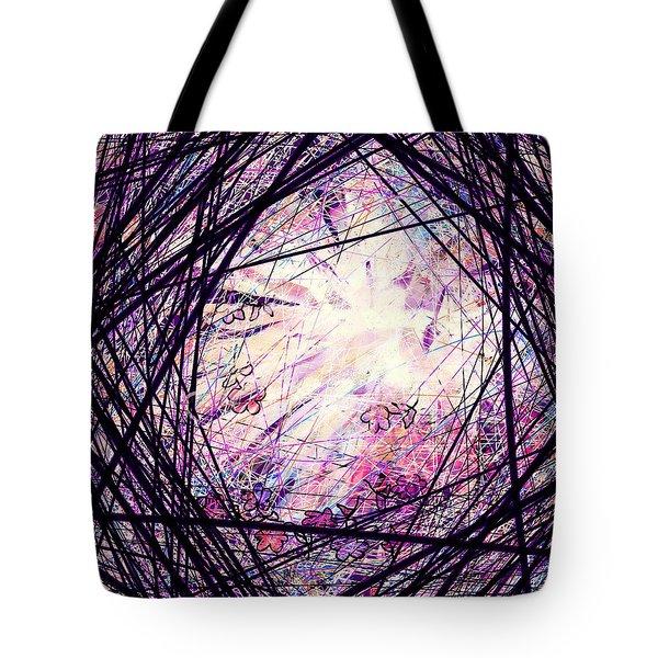 Breakdown Tote Bag by Rachel Christine Nowicki