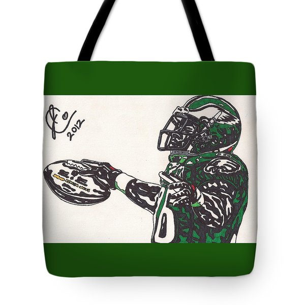 Brian Westbrook 2 Tote Bag by Jeremiah Colley