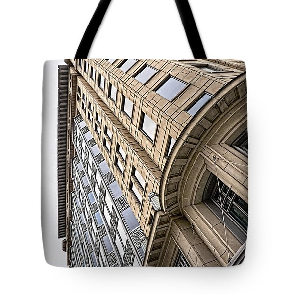Brick And Steel And Glass Tote Bag by Christopher Holmes