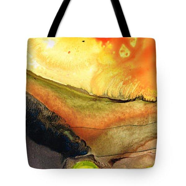 Bridging The Gap Tote Bag by Sharon Cummings