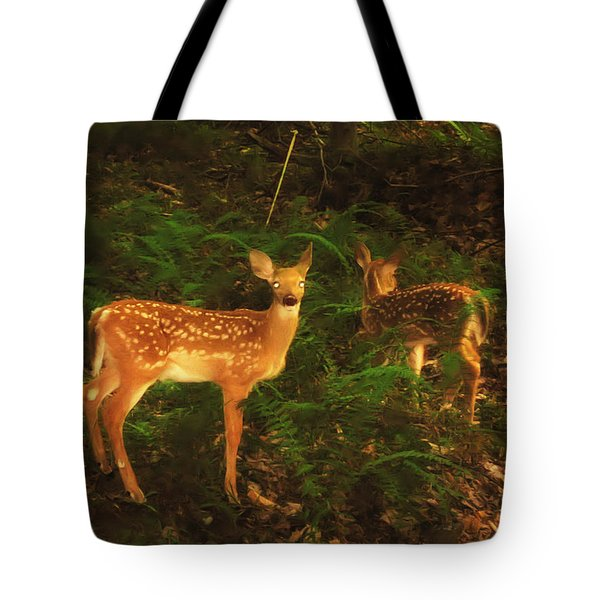 Bright Eyes Tote Bag by Bill Cannon
