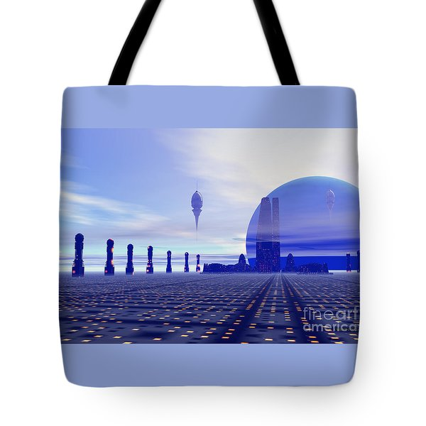 Brighthaven 12 Tote Bag by Corey Ford