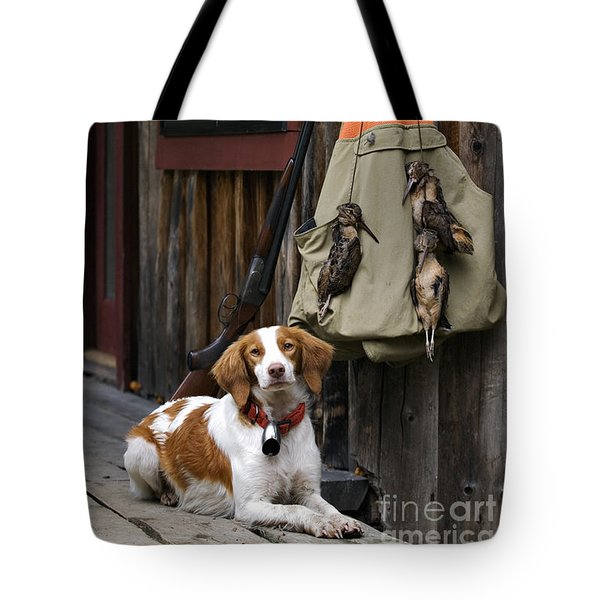 Brittany And Woodcock - D002308 Tote Bag by Daniel Dempster