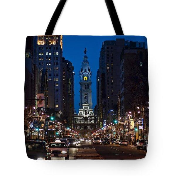 Broad Street Tote Bag by John Greim