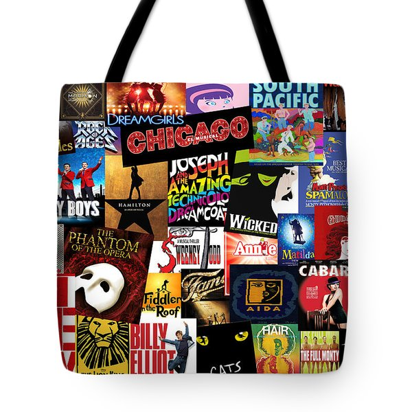 Broadway 3 Tote Bag by Andrew Fare