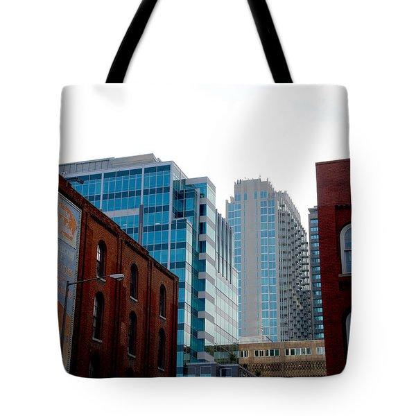 Broadway Nashville TN Tote Bag by Susanne Van Hulst