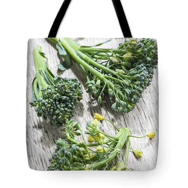Broccoli Florets Tote Bag by Elena Elisseeva
