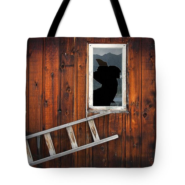 Broke Tote Bag by Wayne Sherriff