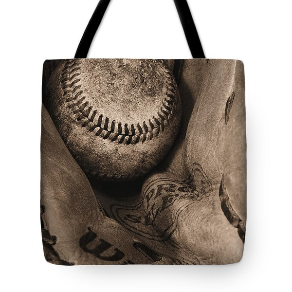 Broken In BW Tote Bag by JC Findley