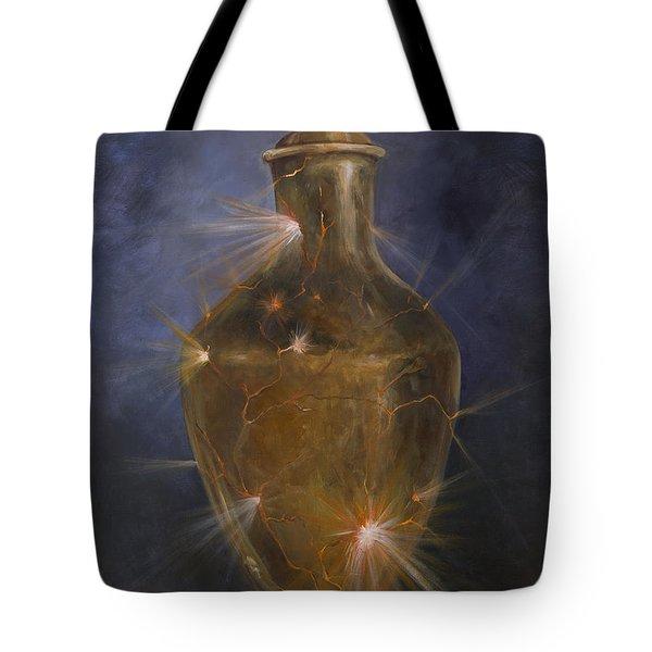 Broken Vessel Tote Bag by Deborah Smith