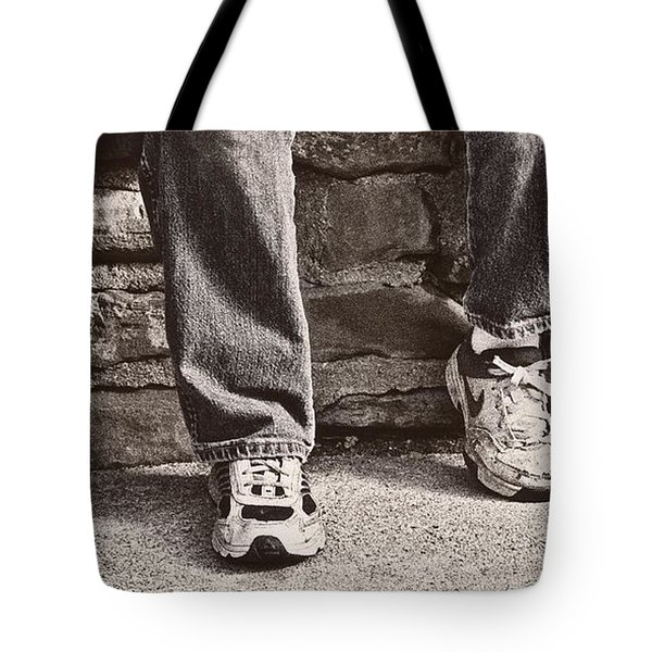 Brothers Tote Bag by Tom Mc Nemar