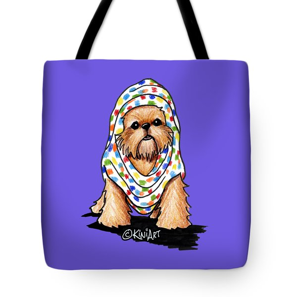 Brussels Griffon Beauty Tote Bag by Kim Niles