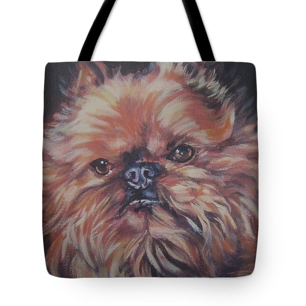 Brussels Griffon Tote Bag by Lee Ann Shepard