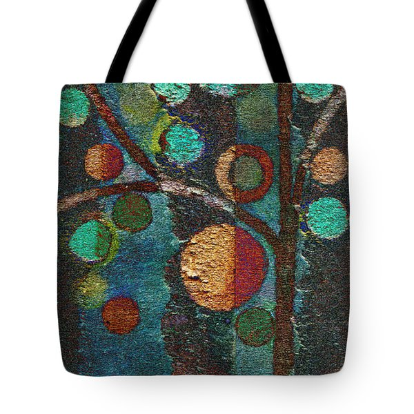 Bubble Tree - Spc02bt05 - Left Tote Bag by Variance Collections
