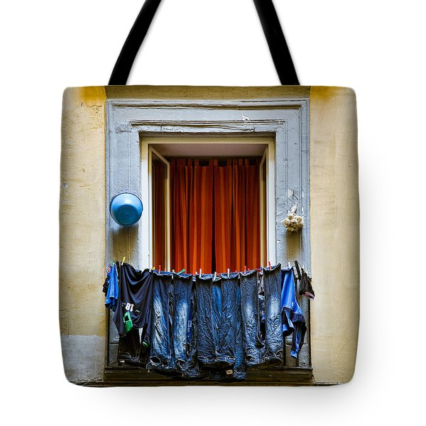 Bucket - Garlic And Jeans Tote Bag by Dave Bowman