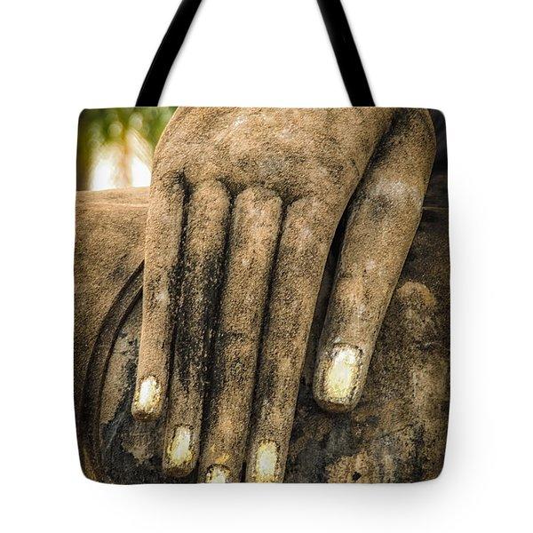 Buddha Hand Tote Bag by Adrian Evans