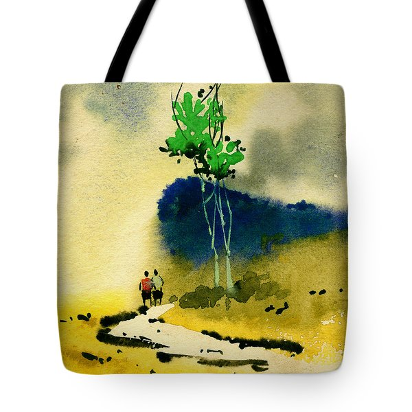 Buddies Tote Bag by Anil Nene