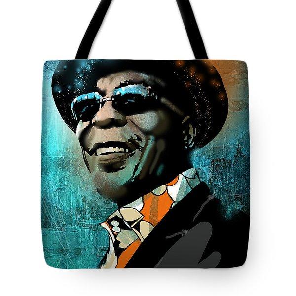 Buddy Guy Tote Bag by Paul Sachtleben