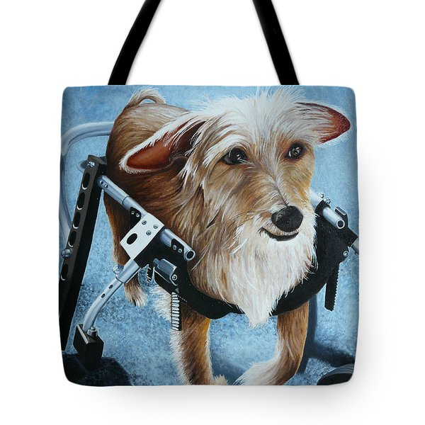 Buddy's Hope Tote Bag by Vic Ritchey
