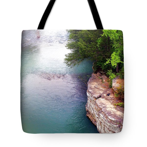 Buffalo River Mist Tote Bag by Marty Koch