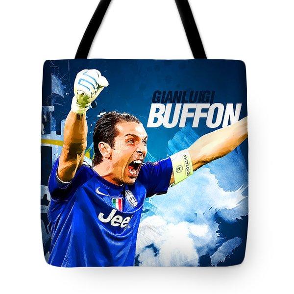 Buffon Tote Bag by Semih Yurdabak